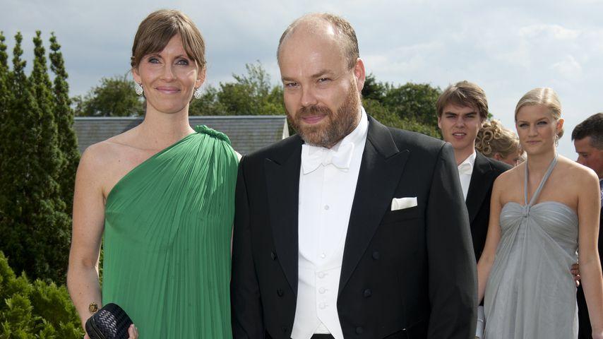 Anders Holch Povlsen und seine Frau Anne in Stouby