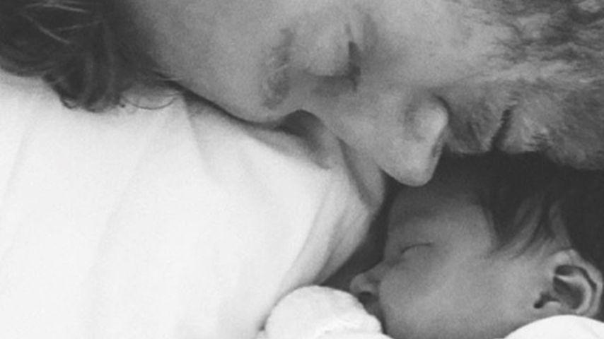 Erste Papa-Tochter-Bilder: André Schürrle im Baby-Glück!