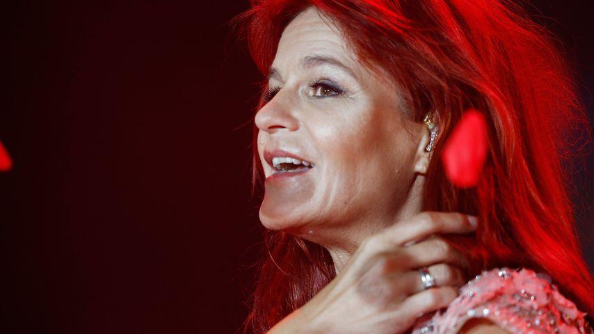 "Andrea Berg beim Open-Air-Festival ""Heimspiel"" in Grossaspach"