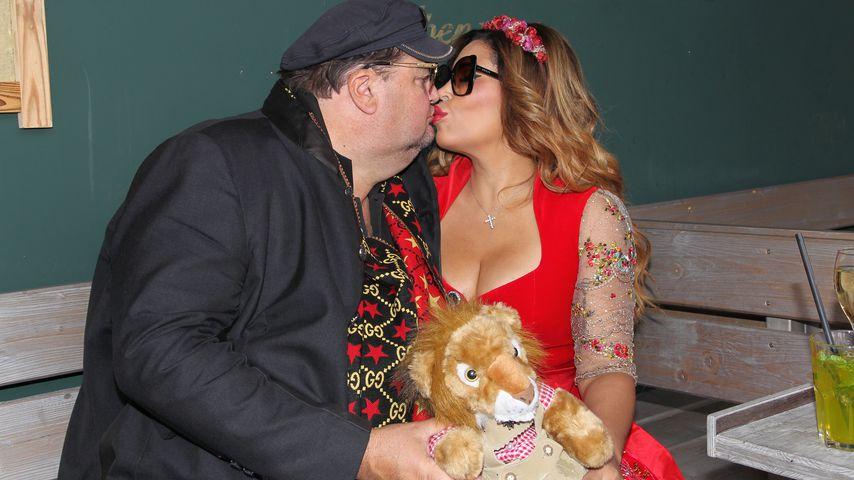 Andreas Ellermann und Patricia Blanco auf dem Münchner Oktoberfest 2019
