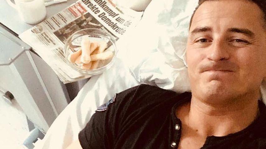 Kampf gegen Keime: Andreas Gabalier ist immer noch am Tropf!