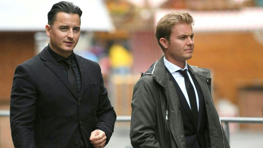 Andreas Gabalier und Nico Rosberg in Wien