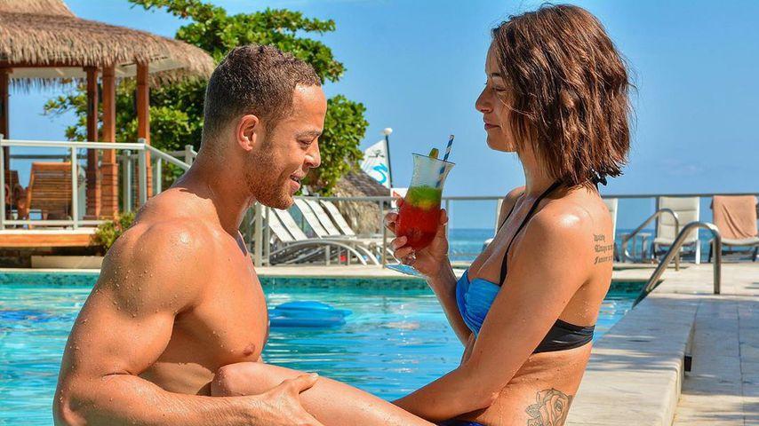 Andrej Mangold und Jenny Lange im Mai 2019 auf Jamaika