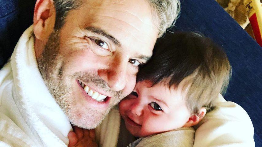 Andy Cohen mit seinem Sohn Benjamin
