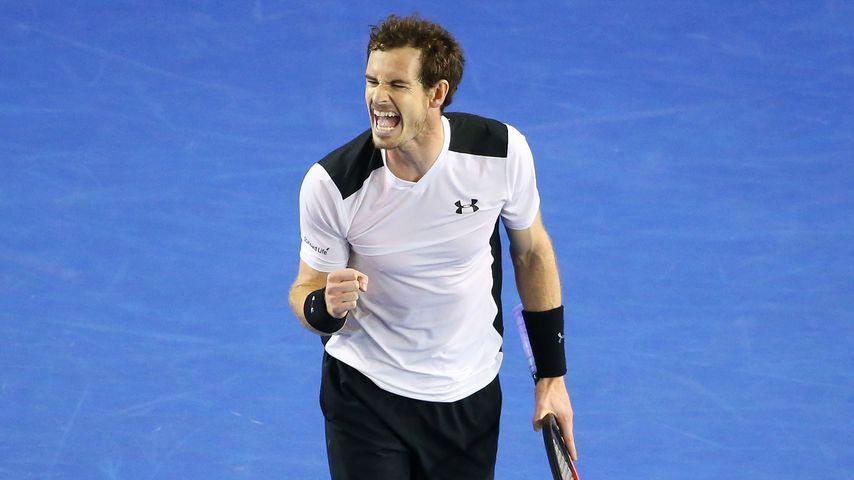 Das Baby ist da: Tennis-Star Andy Murray zum 1. Mal Papa!