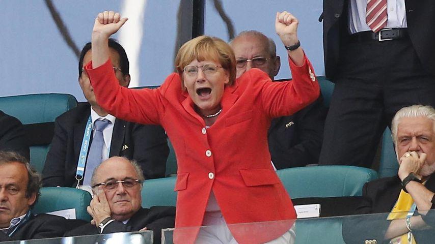 WM-Finale 2014 zu spannend? Merkel wollte Beruhigungsmittel
