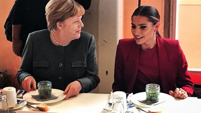 Krass: Hier trifft Sophia Thomalla unsere Bundeskanzlerin