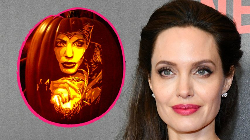 Angelina Jolie gibt über 1.000 $ für Halloween-Artikel aus!