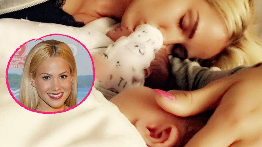 Angelina Heger überglücklich: Die Zwillinge sind da!