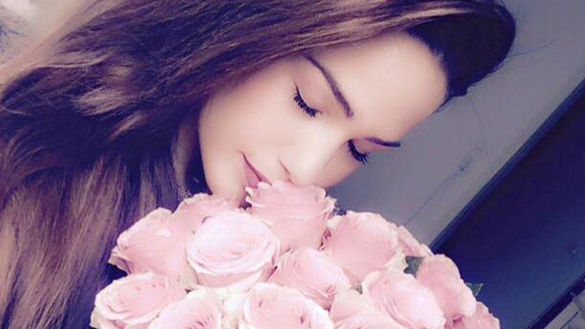 Blumen für Angelina Heger: Ist mit Rocco wieder alles gut?
