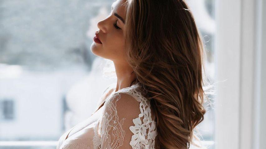 So sexy ist Angelina Heger in ihrer ersten Schwangerschaft!