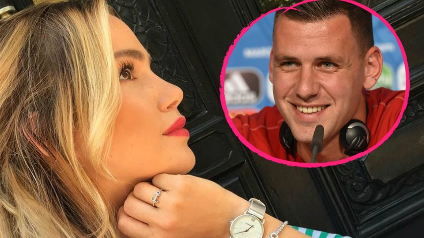Gleiche Insta-Clips: Angelina Heger & Adam Szalai im Urlaub?