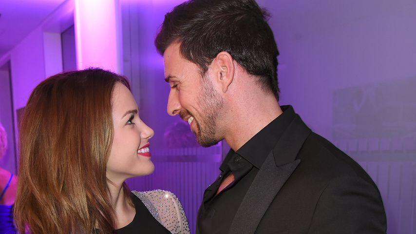 Angelina Heger und Leonard Freier