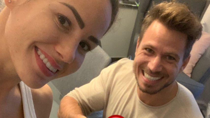 So verrieten Angelina und Basti ihren Familien die Baby-News