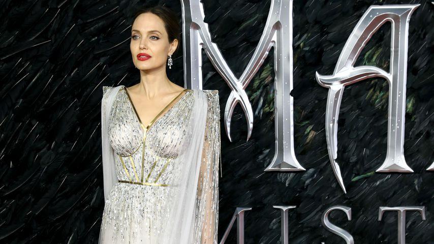 """Angelina Jolie bei der """"Maleficent: Mächte der Finsternis""""-Premiere in London"""