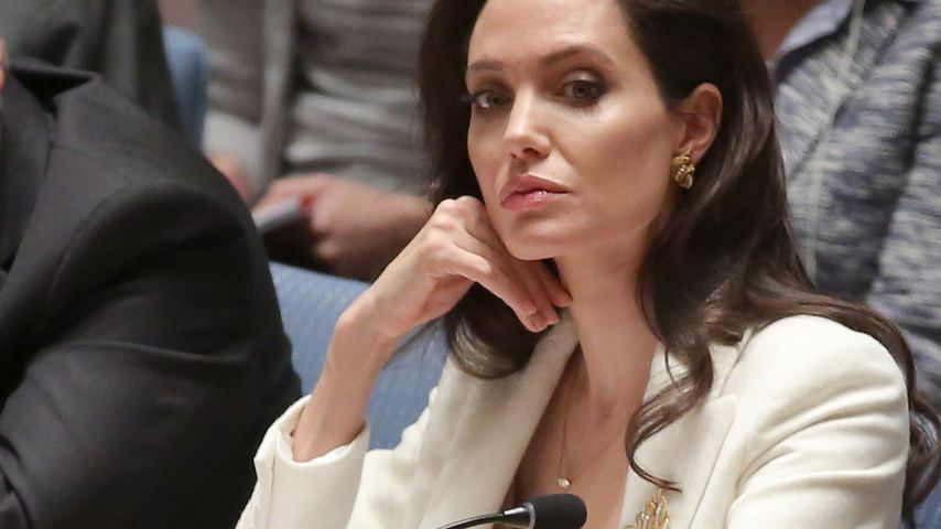 Angelina Jolie bei einem United-Nations-Meeting in NYC