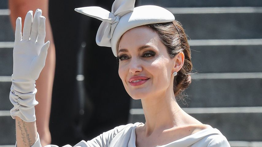 Angelina Jolie beim Service of Commemoration and Dedication für den St Michael and St George Orden