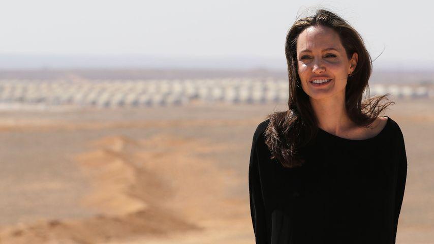 Angelina Jolie in Jordanien 2016