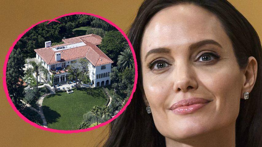 25-Millionen-Dollar-Villa: Liebesnest für Angelina & Lover?