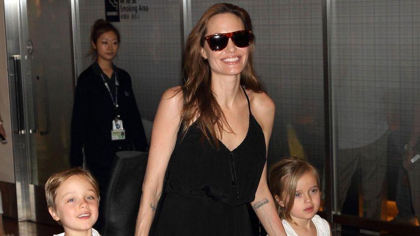 Family-Show: Angelina Jolie mit den Kids in Tokio