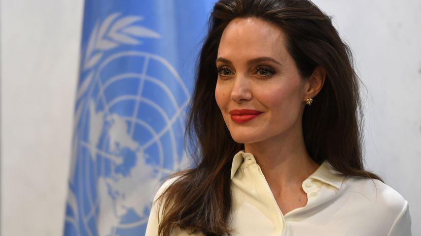Angelina Jolie bei den Vereinten Nationen im September 2017