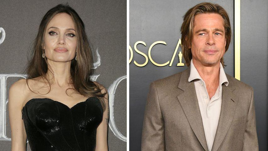 Hassliebe: So steht es um Angelina Jolie und Brad Pitt