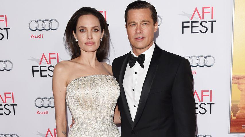 Angelina Jolie und Brad Pitt im November 2015