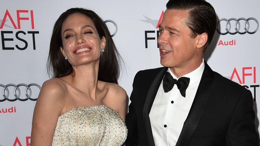 Angelina Jolie und Brad Pitt beim AFI FEST 2015