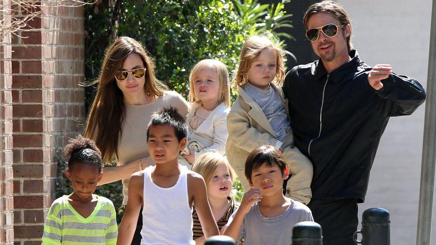 Sorgerechtsstreit mit Brad: Angelina Jolie lenkt endlich ein