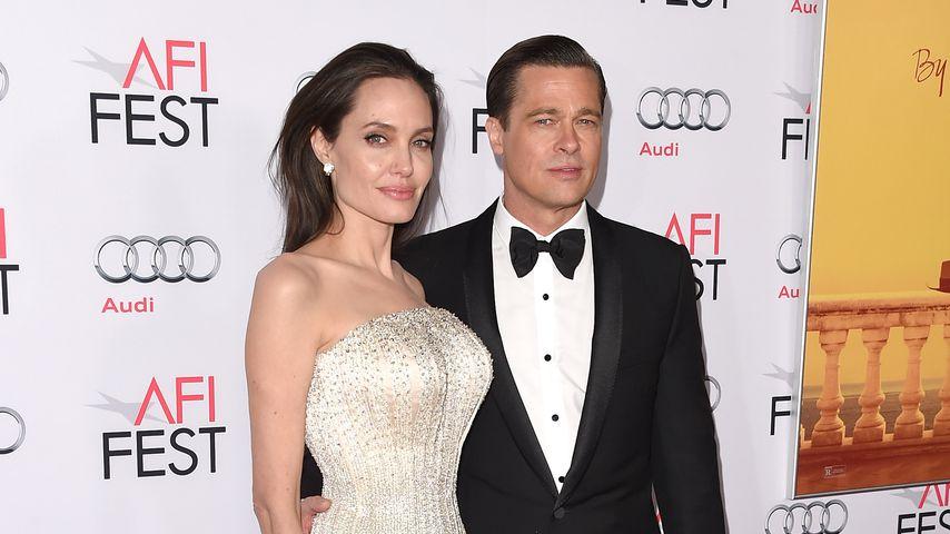 Angelina Jolie und Brad Pitt in Hollywood, 2015