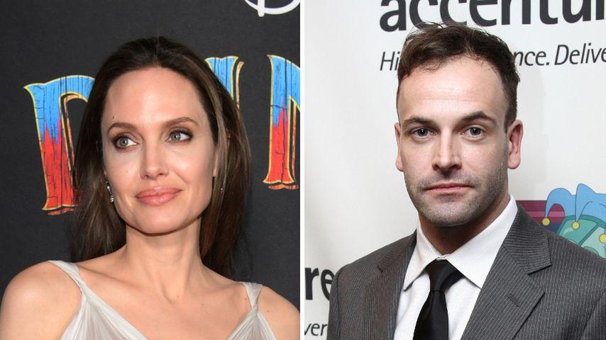 Datet Angelina Jolie wieder ihren Ex-Mann Jonny Lee Miller?