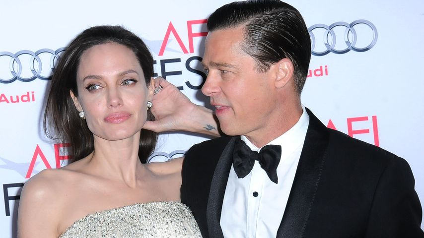 Angelina Jolie und Brad Pitt beim AFI Fest im November 2015