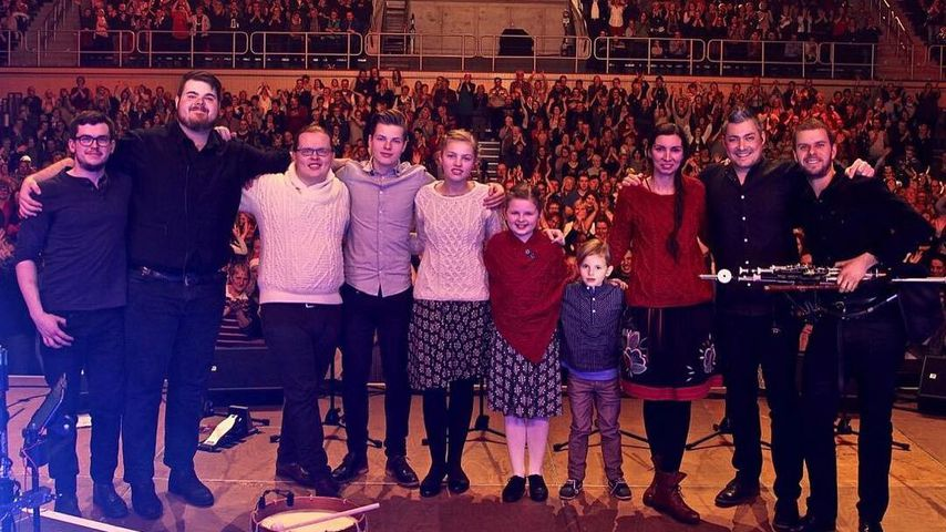 """Familienband """"Angelo Kelly & Family"""" im Februar 2018"""