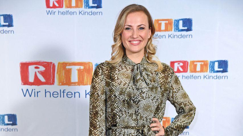 Ania Niedieck beim RTL-Spendenmarathon
