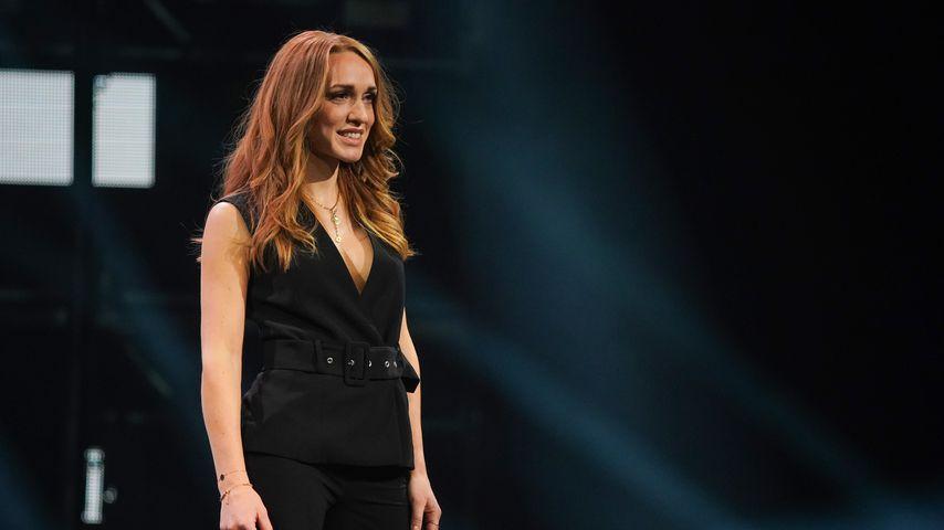 Anja Kallenbach bei der Wahl zur Miss Germany 2021