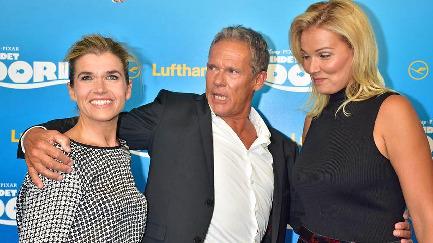 Anke Engelke, Christian Tramitz und Franziska van Almsick