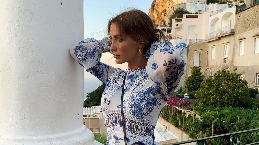 Ann-Kathrin Götze auf Capri