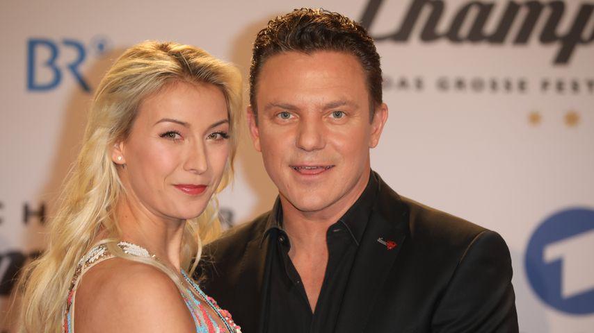 Anna-Carina und Stefan Mross im Januar 2020 in Berlin