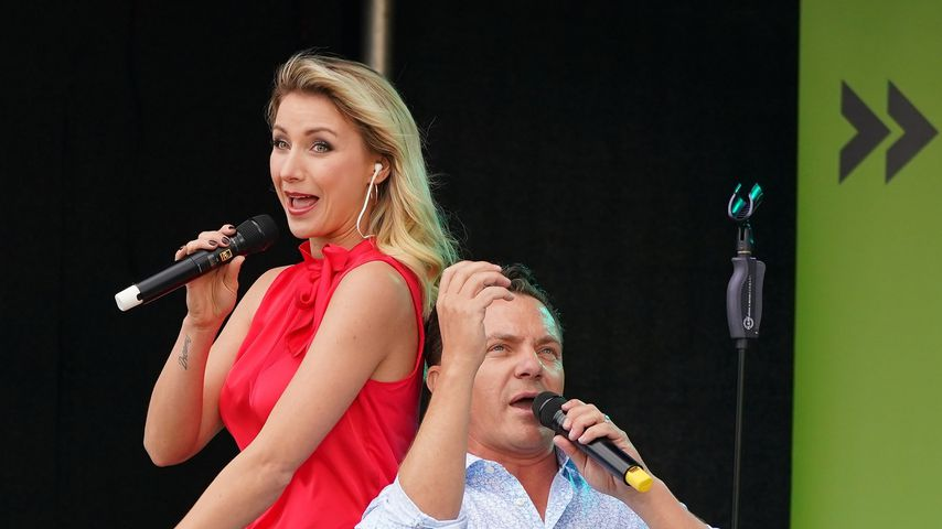 Anna-Carina und Stefan Mross im Mai 2020 in Titisee-Neustadt