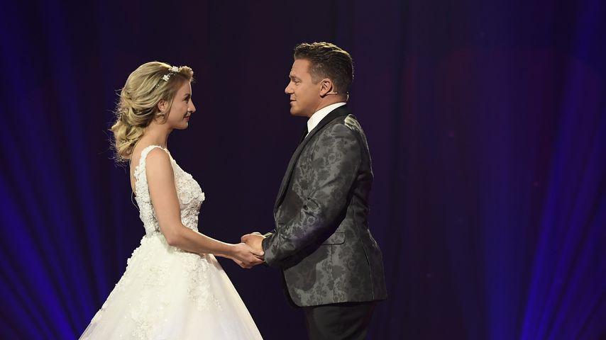 Zum ersten Hochzeitstag: Stefan Mross teilt Erinnerungsfotos