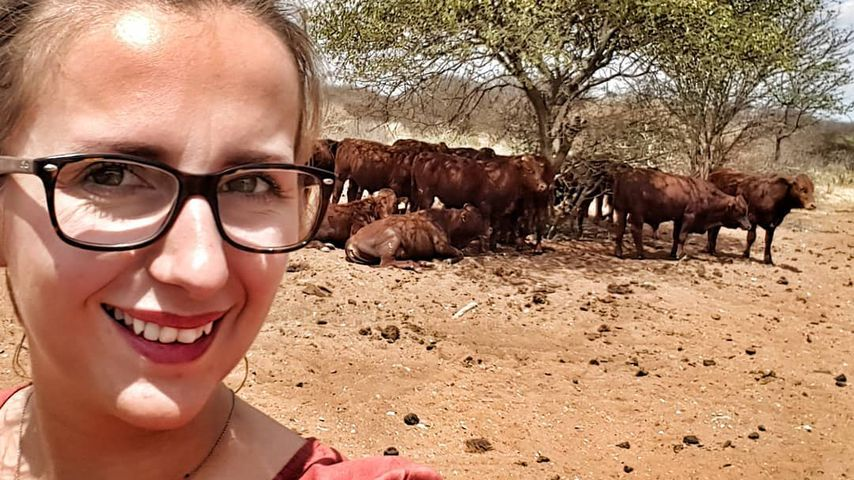 """""""Bauer sucht Frau""""-Kandidatin Anna Heiser in Namibia"""