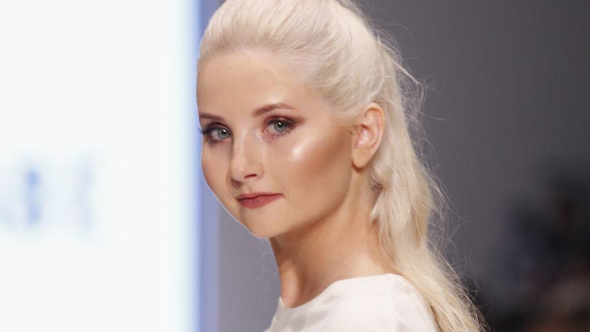 Anna Hiltrop bei der Fashionyard Show in Düsseldorf