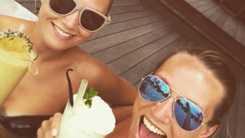Urlaubs-Pic: Anna Hofbauer zeigt uns ihre süße Schwester