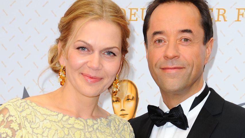 Anna Loos und Jan Josef Liefers beim Deutschen Filmpreis 2014