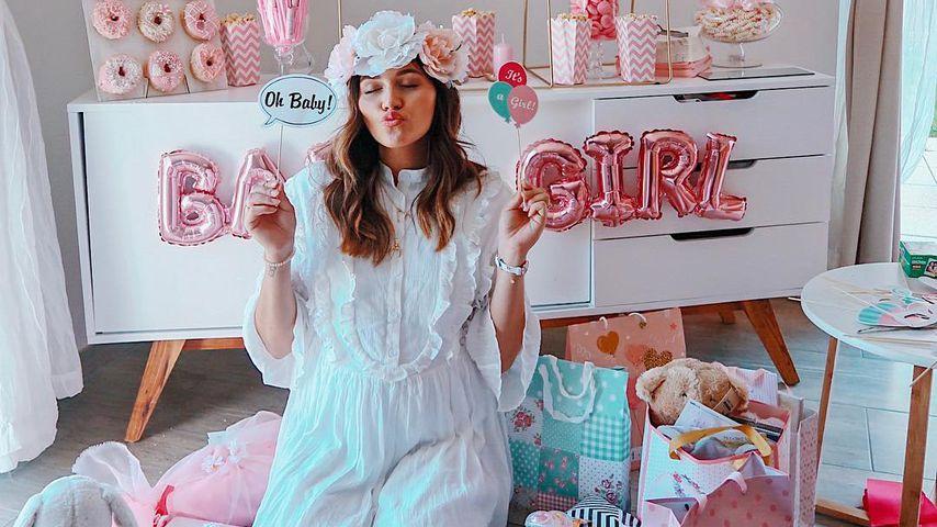 Tränen bei ihrer Baby-Shower: Anna Maria Damm ganz emotional