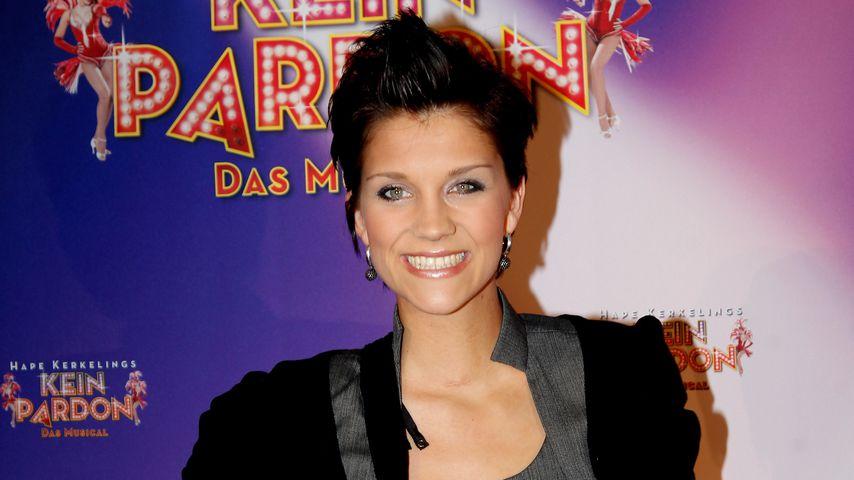 """Anna-Maria Zimmermann 2011 bei der """"Kein Pardon""""-Premiere in Düsseldorf"""