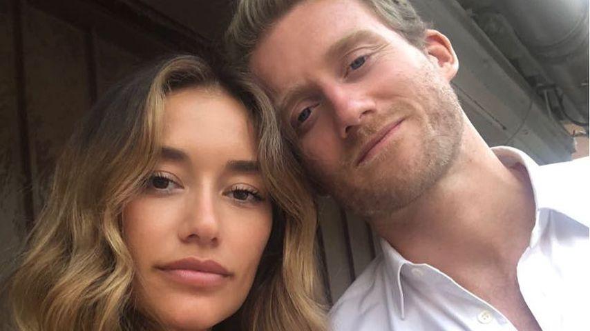 Anna Sharypova und André Schürrle, Juni 2018