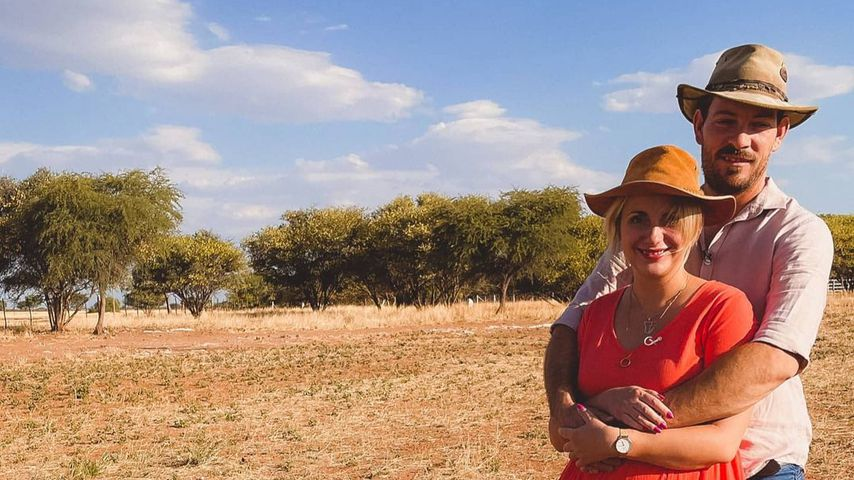 Anna und Gerald Heiser in Namibia