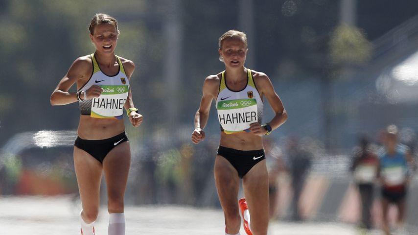 Anna und Lisa Hahner bei den Olympischen Spielen 2016