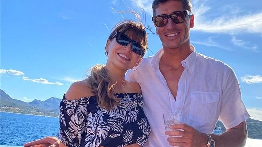 Anna und Robert Lewandowski im September 2020